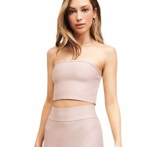 *FINALSALE* NWT DYNAMITE Sleeveless Tube Crop Top